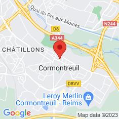 Carte / Plan Cormontreuil