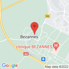 Carte / Plan Bezannes