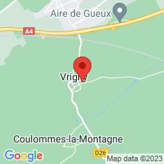Carte / Plan Vrigny (Marne)