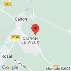 Carte / Plan Pierre Tourneresse (Cairon)