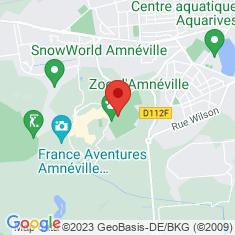 Carte / Plan Parc zoologique d'Amnéville