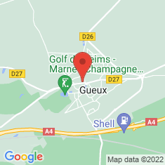 Carte / Plan Gueux (Marne)
