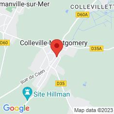 Carte / Plan Colleville-Montgomery