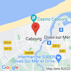 Carte / Plan Cabourg