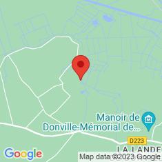 Carte / Plan Parc naturel régional des Marais du Cotentin et du Bessin