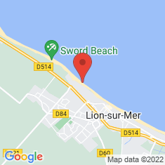 Carte / Plan Sword Beach