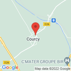 Carte / Plan Courcy (Marne)