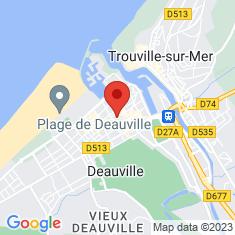 Carte / Plan Deauville