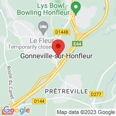 Carte / Plan Gonneville-sur-Honfleur