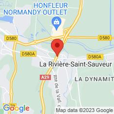 Carte / Plan Viaduc de la Rivière-Saint-Sauveur