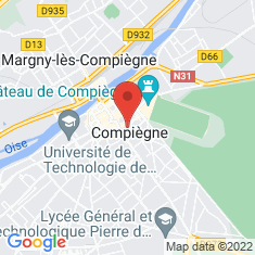 Carte / Plan Église Saint-Jacques de Compiègne
