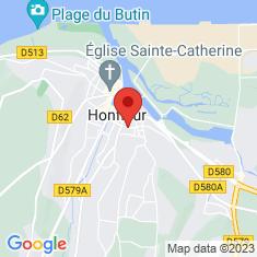 Carte / Plan Église Saint-Léonard de Honfleur