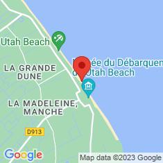 Carte / Plan Utah Beach