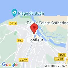 Carte / Plan Église Sainte-Catherine de Honfleur