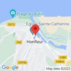 Carte / Plan Lieutenance d'Honfleur