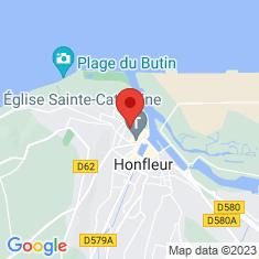 Carte / Plan Musée Eugène-Boudin de Honfleur