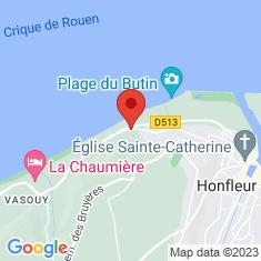 Carte / Plan Phare de Honfleur