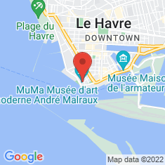 Carte / Plan Musée d'Art moderne André Malraux