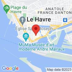 Carte / Plan Cathédrale Notre-Dame du Havre