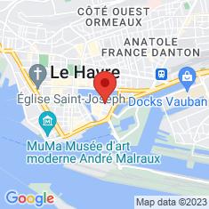 Carte / Plan Église Saint-François du Havre