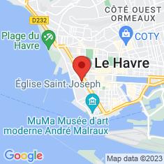 Carte / Plan Le Havre
