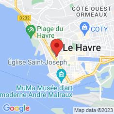 Carte / Plan Église Saint-Joseph du Havre