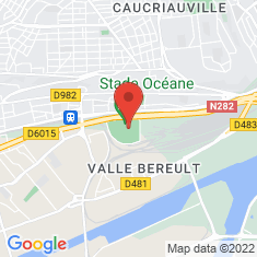 Carte / Plan Stade Océane