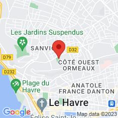 Carte / Plan Stade de la Cavée verte