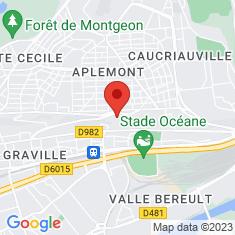 Carte / Plan Abbaye de Graville