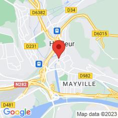 Carte / Plan Harfleur