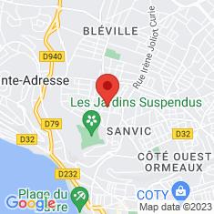 Carte / Plan Stade Langstaff