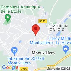 Carte / Plan Montivilliers