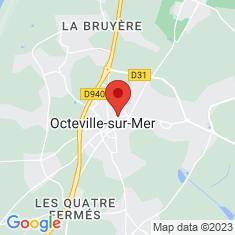 Carte / Plan Octeville-sur-Mer