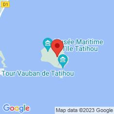 Carte / Plan Tatihou
