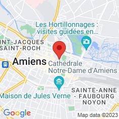 Carte / Plan Cathédrale Notre-Dame d'Amiens