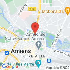 Carte / Plan Amiens