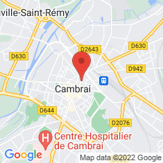 Carte / Plan Cambrai