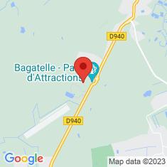 Carte / Plan Parc Bagatelle (Pas-de-Calais)