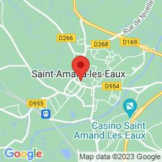 Carte / Plan Saint-Amand-les-Eaux