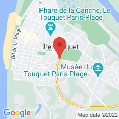 Carte / Plan Le Touquet-Paris-Plage