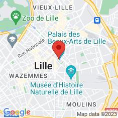 Carte / Plan Palais des beaux-arts de Lille