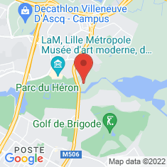 Carte / Plan Parc archéologique Asnapio