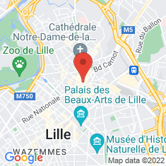 Carte / Plan Lille