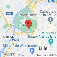 Carte / Plan Parc zoologique de Lille