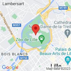 Carte / Plan Citadelle de Lille