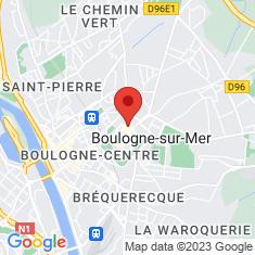 Carte / Plan Boulogne-sur-Mer