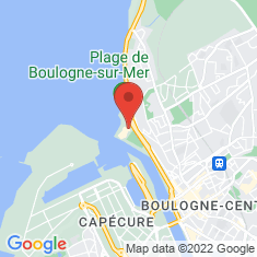 Carte / Plan Nausicaá - Centre national de la mer