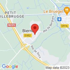 Carte / Plan Bierne
