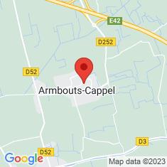 Carte / Plan Armbouts-Cappel