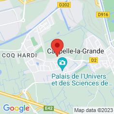 Carte / Plan Cappelle-la-Grande